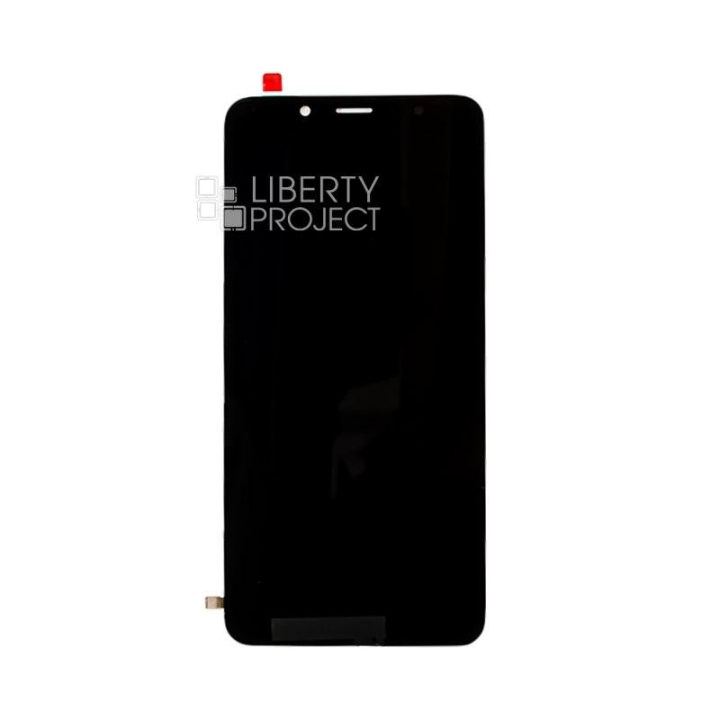 LCD дисплей для Xiaomi Redmi 7A в сборе с тачскрином, оригинальная матрица (черный) — купить оптом в интернет-магазине Либерти