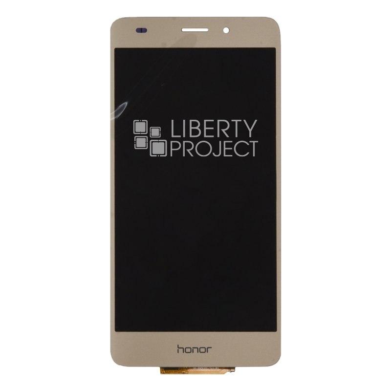 LCD дисплей для Huawei Honor 5C с тачскрином (золото) — купить оптом в интернет-магазине Либерти
