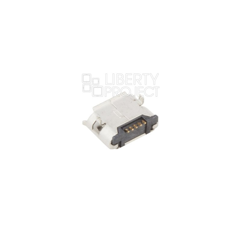Системный разъем/System Connector Alcatel OT810/990/4010/4012/5035/6033 Micro USB