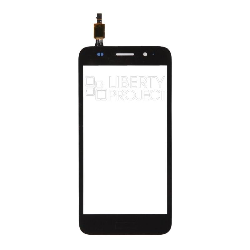 Тачскрин для Huawei Y3 2017 (CRO-L22), черный — купить оптом в интернет-магазине Либерти