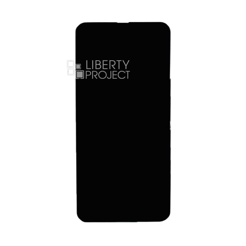 LCD дисплей для Samsung Galaxy A21 SM-A215 в сборе (черный) — купить оптом в интернет-магазине Либерти