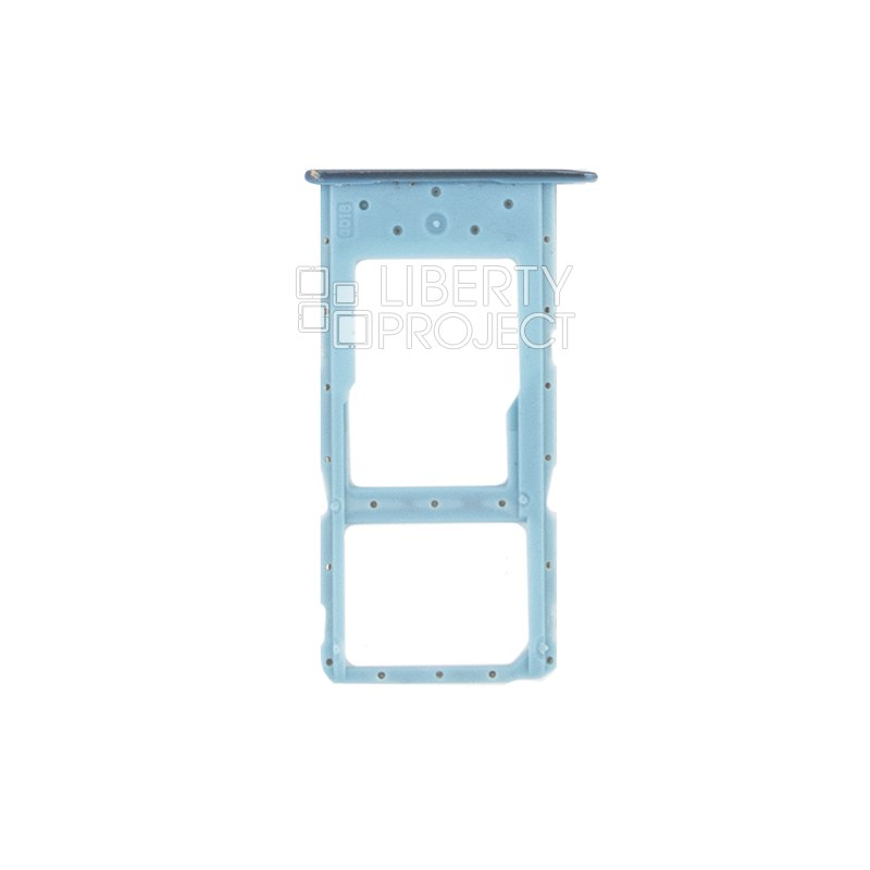 Держатель SIM карты для Huawei Honor 10 Lite HRY LX1 / 10i HRY LX1T синий — купить оптом в интернет-магазине Либерти